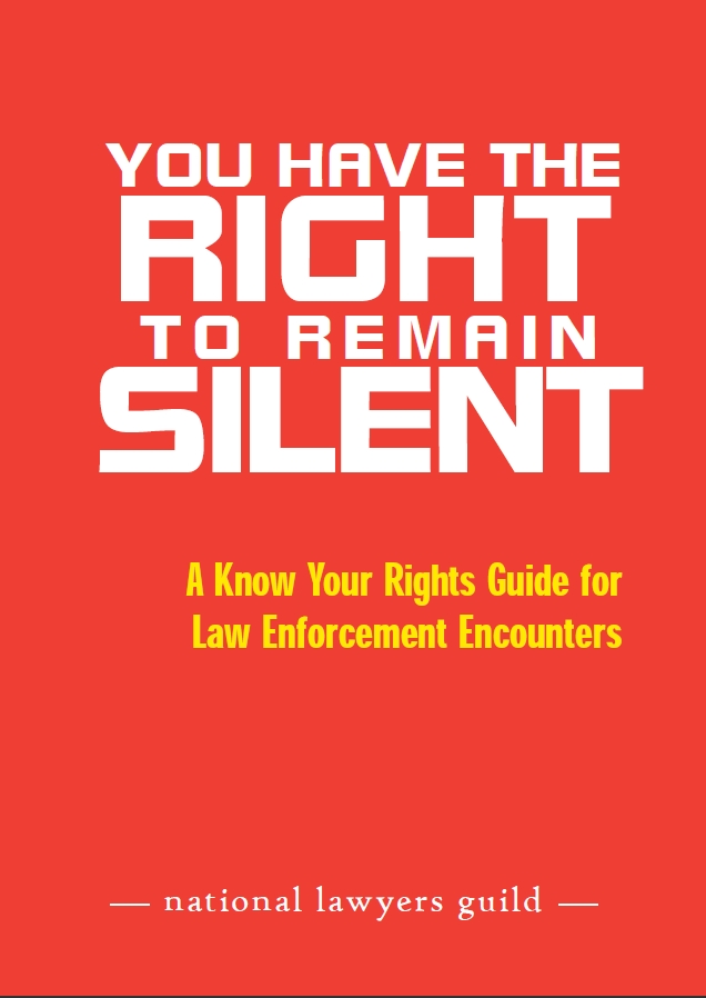 NLG Know Your Rights guide
