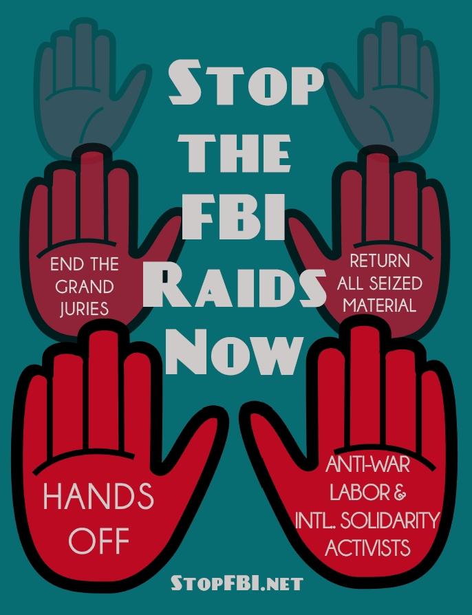 Stop FBI poster