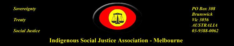 Indigenous Social Justice Association logo