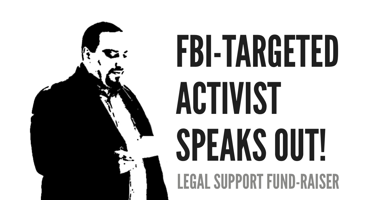 The Stop FBI and Grand Jury Political Repression West Coast Tour with Hatem Abudayyeh