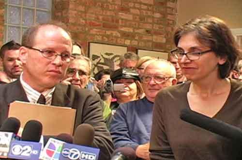 Joe Iosbaker and Stephanie Weiner