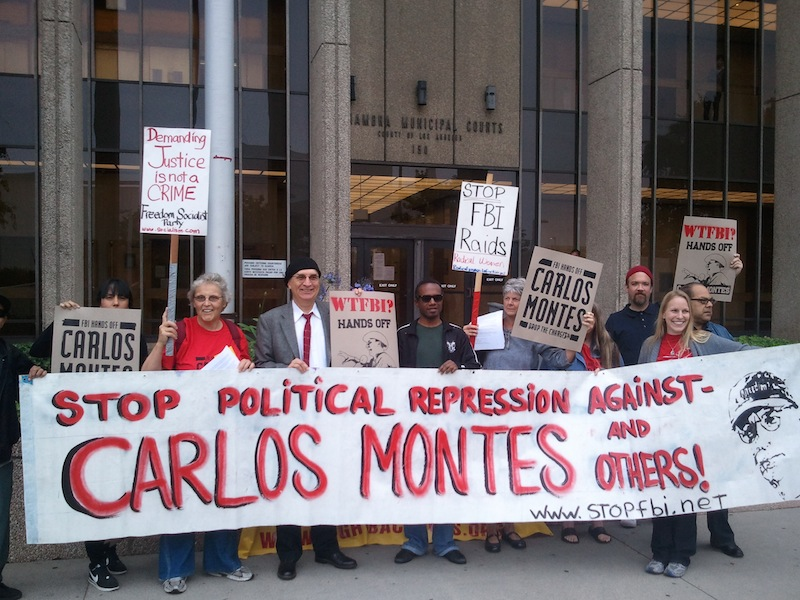 Support Carlos Montes as he goes to court Friday, August 12