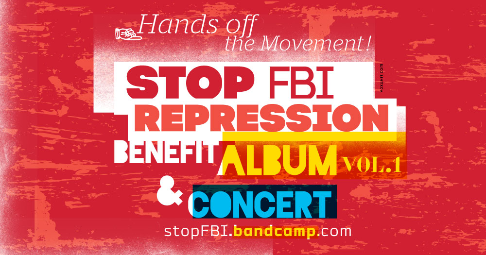 Stop FBI Repression benefit album